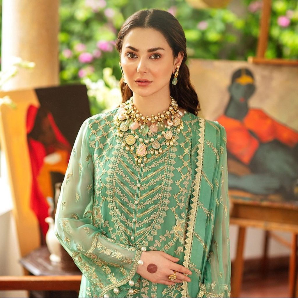 Afrozeh's Upcoming Wedding Formal Collection Featuring Hania Aamir