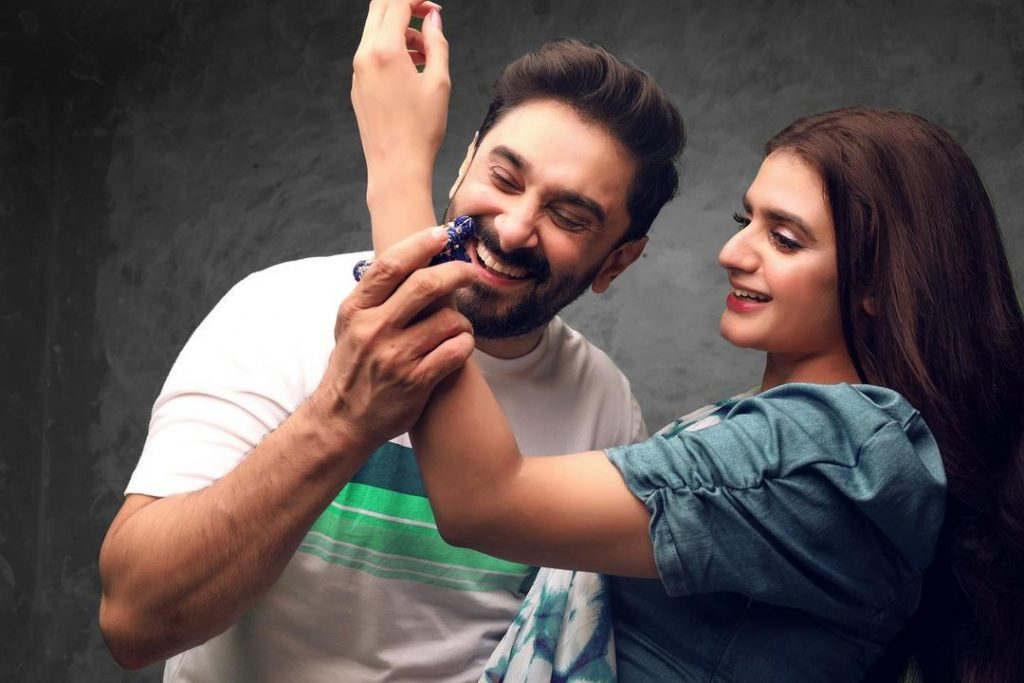 Latest Adorable Pictures Of The Power Couple Hira And Mani