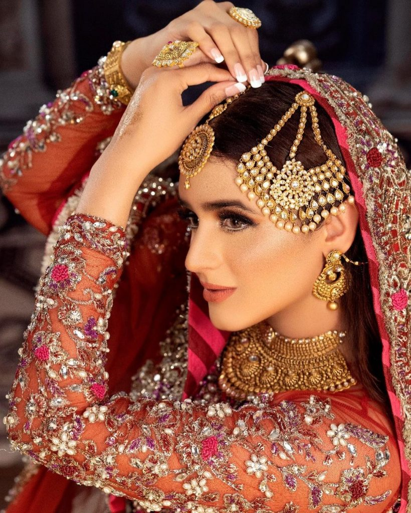 Hira Mani Makes A Stunning Bride In Her Latest Bridal Shoot