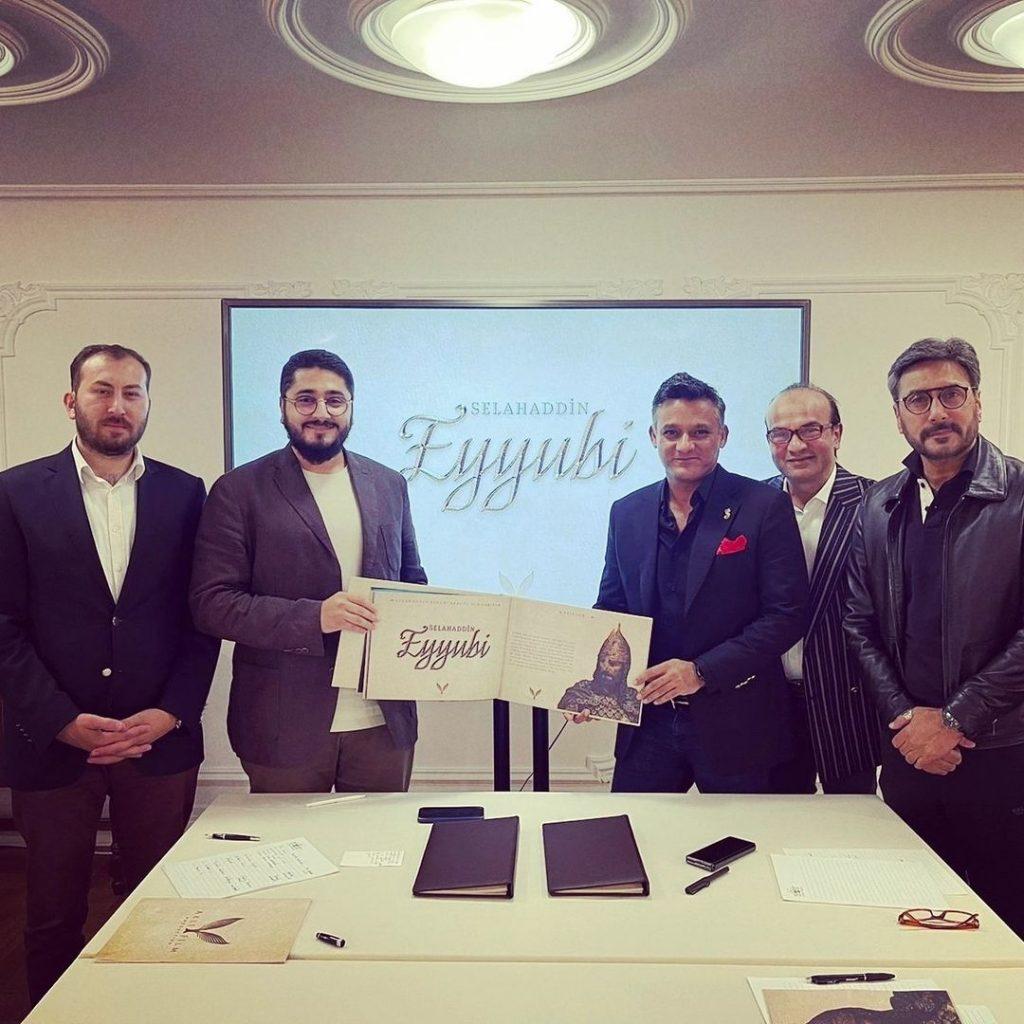 Humayun Saeed Collaborates With Turkey For Mega Period Play