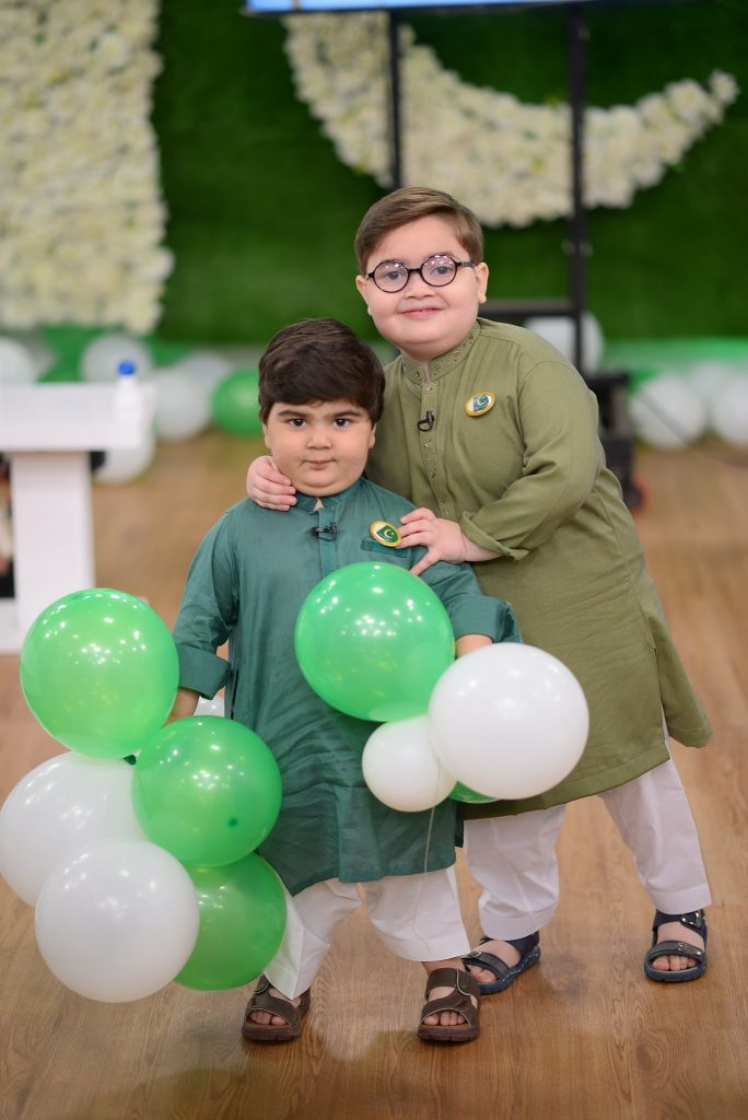 Celebrities Spotted At The Set Of GMP Independence Day Special Show