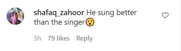 Junaid Safdar Enthralls Guest By His Melodious Voice