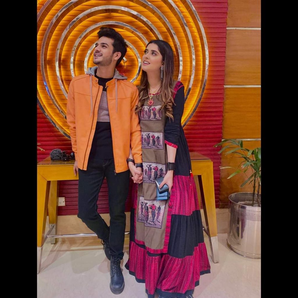 Kanwal Aftab With Her Husband Zulqarnain - Pictures