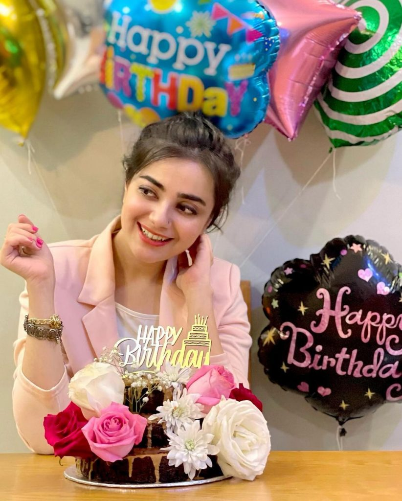 Alluring Pictures Of Kompal Iqbal Celebrating Her Birthday