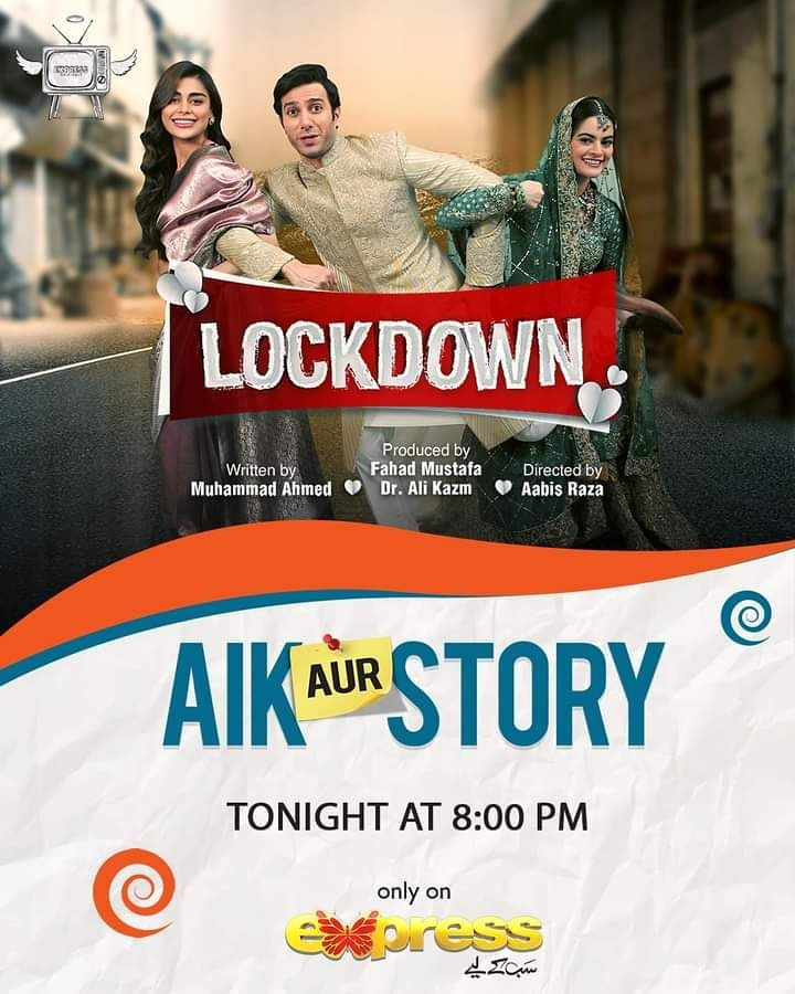 """Telefilm """"Lockdown"""" Featuring Emmad Irfani And Minal Khan - Teaser Out Now"""