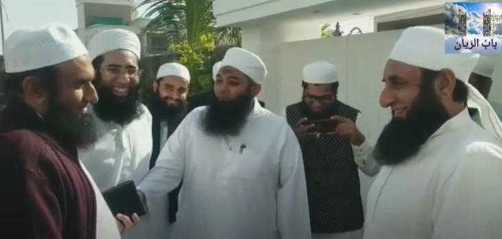 Maulana Tariq Jamil Met His Look Alike