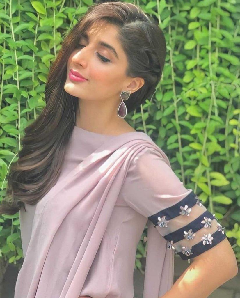 Mawra Hocane Flaunts Elegance In Her Sari Looks