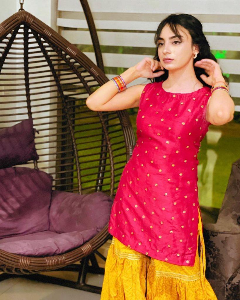 Recent Enchanting Pictures Of Actress Mehar Bano