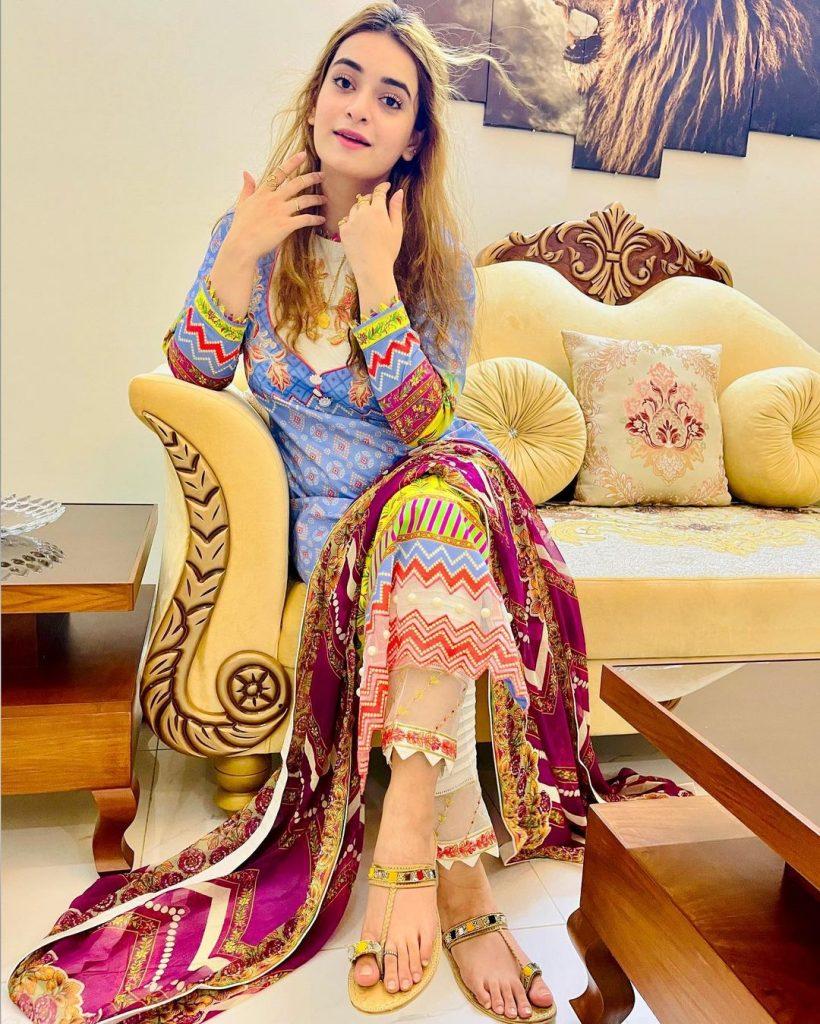 Latest Captivating Pictures Of Minsa Malik