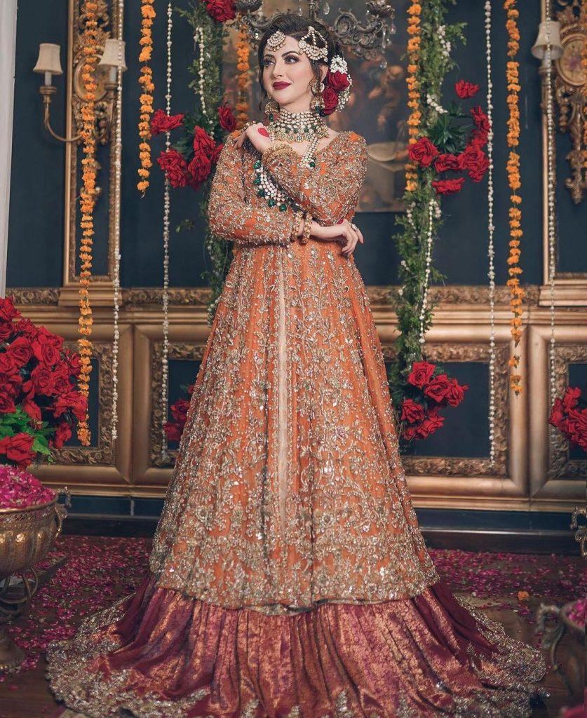 Moomal Khalid Exudes Utter Elegance In Her Latest Bridal Shoot