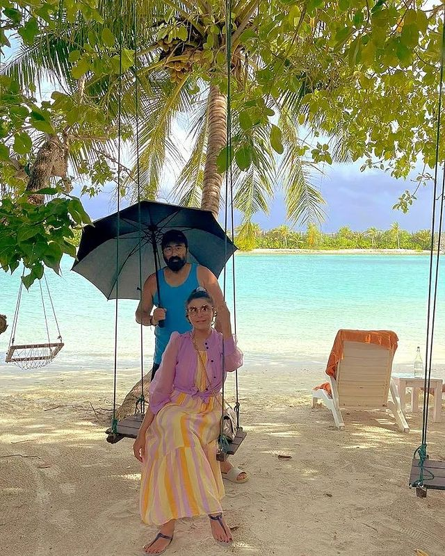 Nida Yasir And Yasir Nawaz Vacationing In Maldives - Latest Pictures