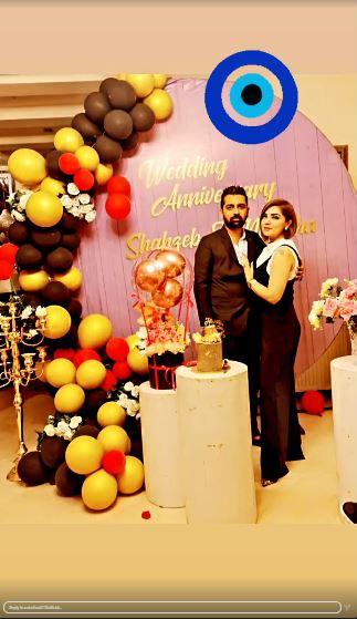 Actress Natasha Ali Celebrates Her First Wedding Anniversary