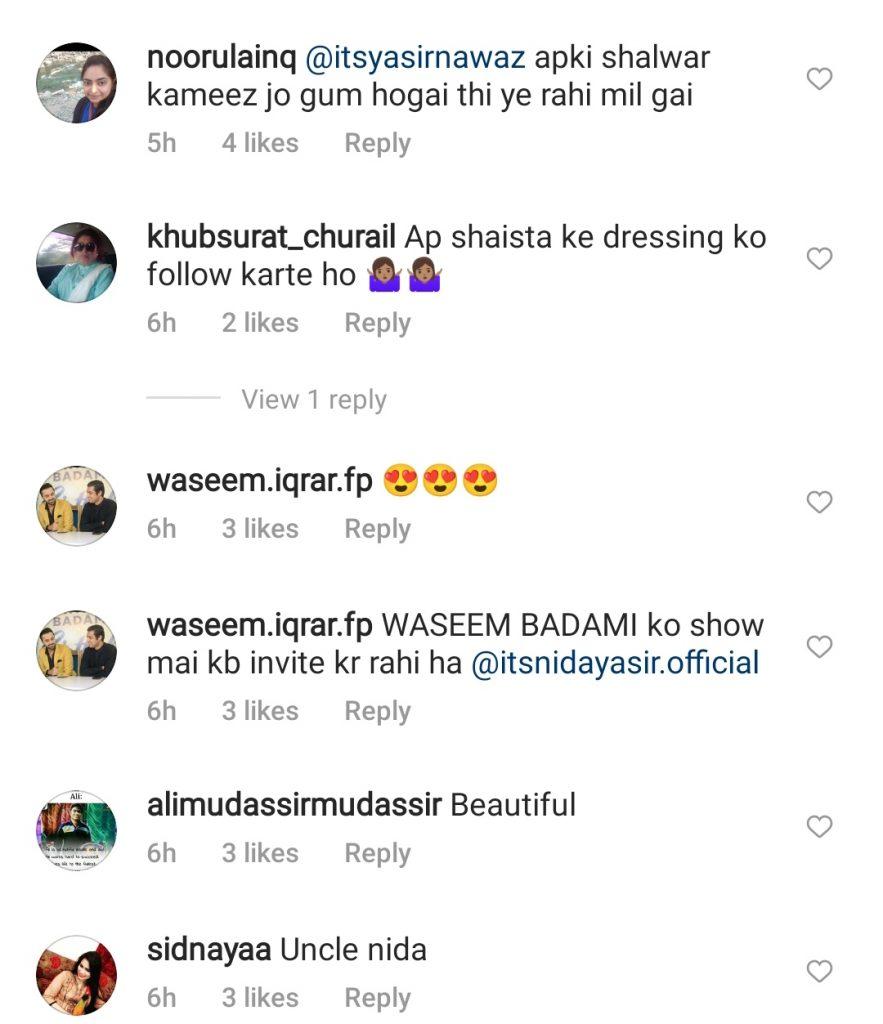 Nida Yasir Trolled On Wearing Gents Style Suit