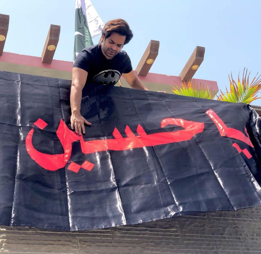 Pakistani Actors Observing Ashura Day With Respect