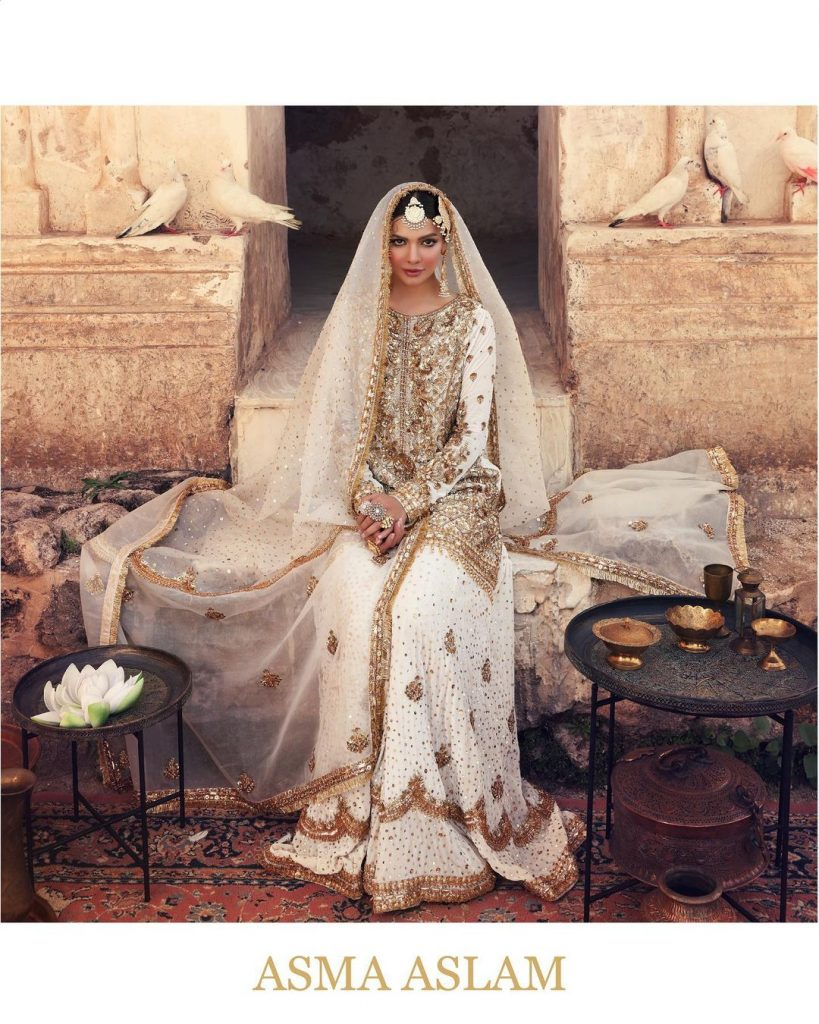 Sara Loren Nails Ethereal Charm In Her Latest Bridal Shoot