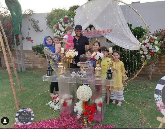 Shahid Afridi Returns Home To A Lovely Surprise