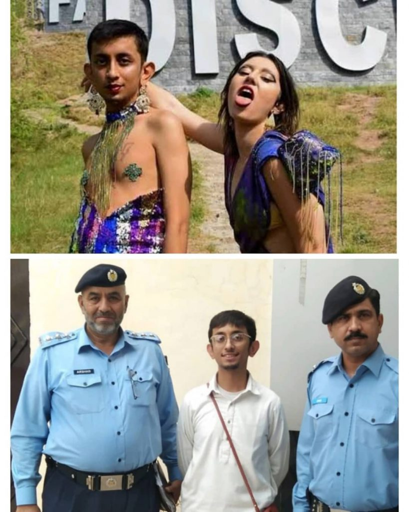 The Guy Involved In Viral Photoshoot Arrested