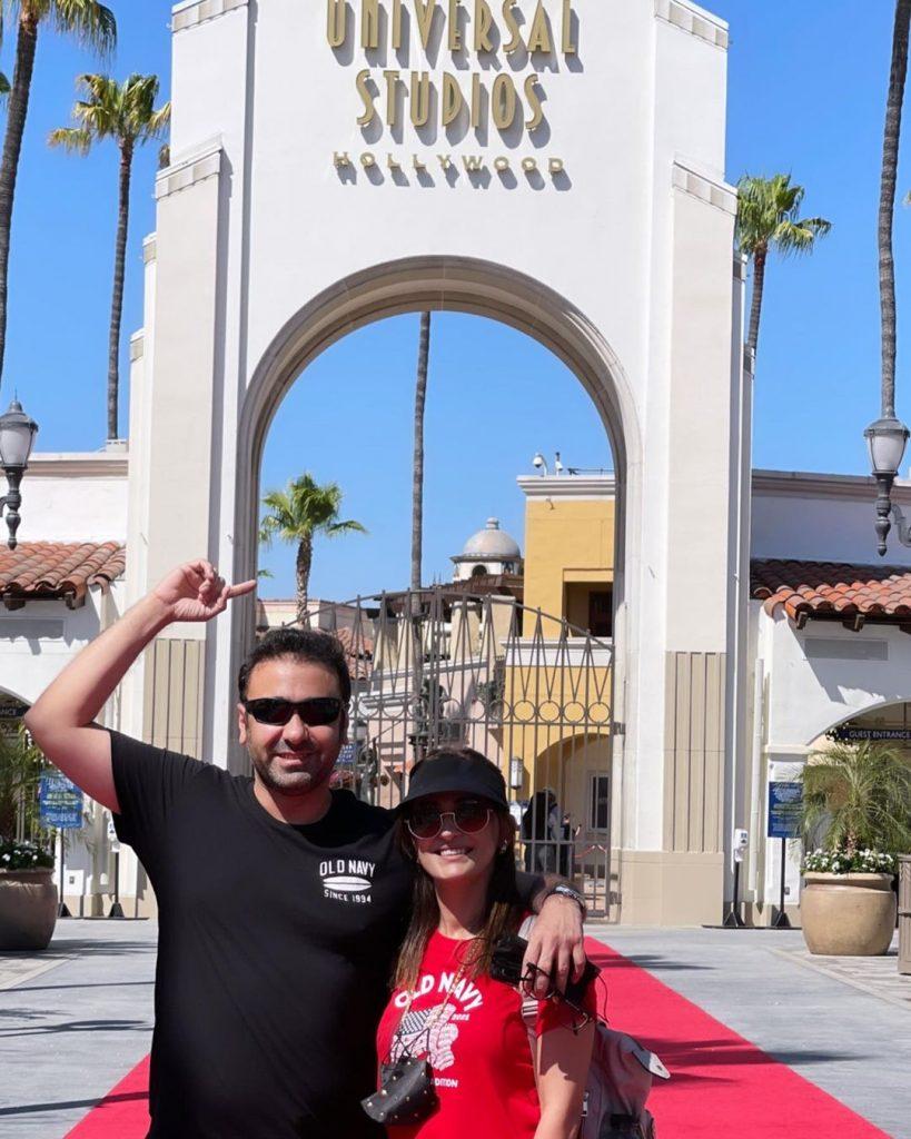 Wajahat Rauf And Family Vacationing In California