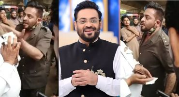 Aamir Liaquat Got Furious On A Traffic Constable And Public Is Amused