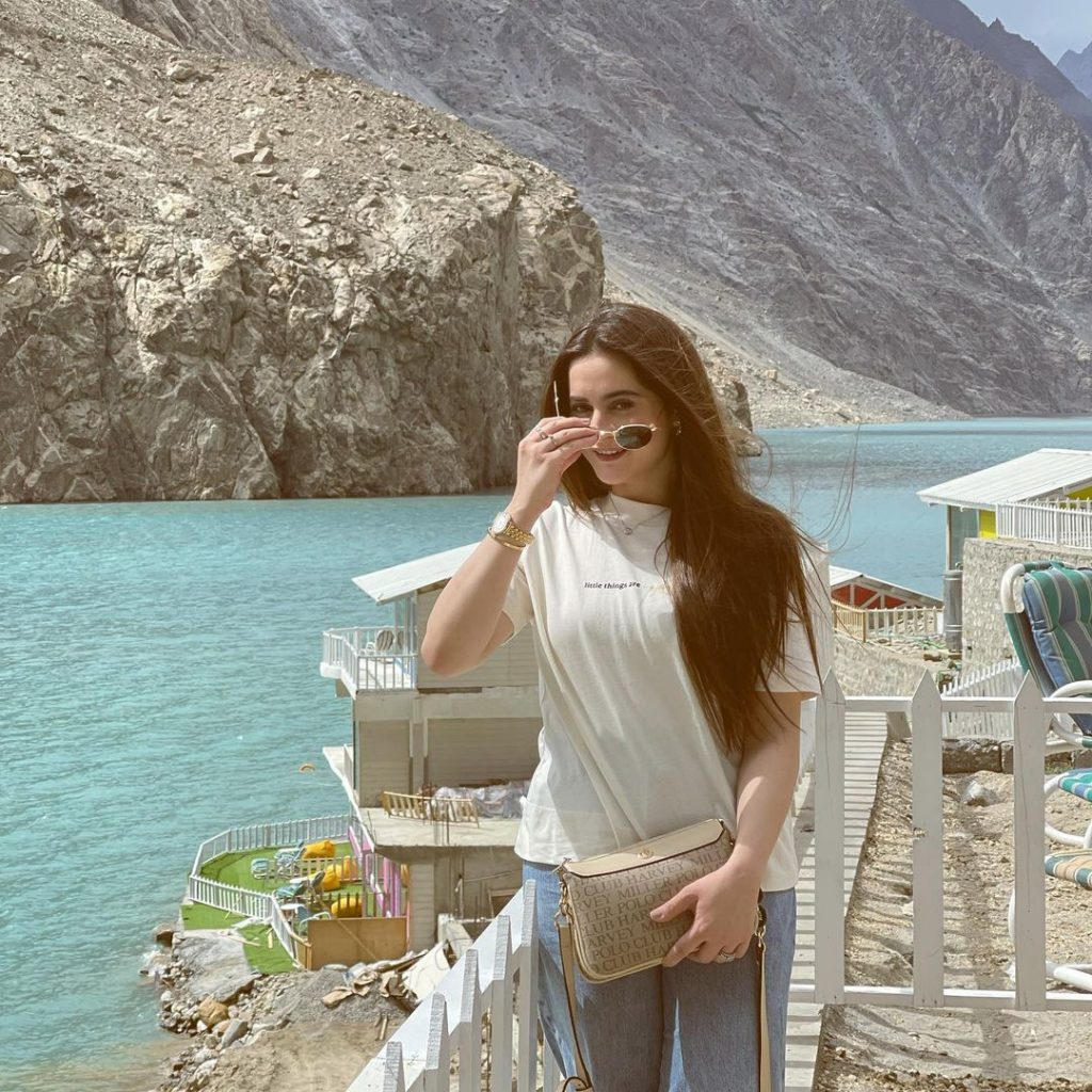 Aiman Khan And Muneeb Butt Exploring The Beauty Of Northern Pakistan