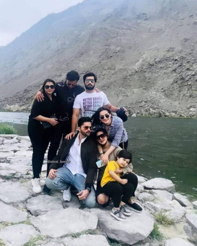 Aiman Khan And Muneeb Butt Latest Clicks From Skardu