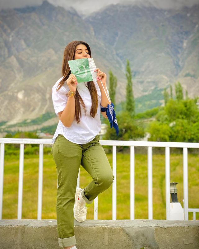 Aiman Zaman And Mujtaba Lakhani-Latest Pictures From Naran And Hunza