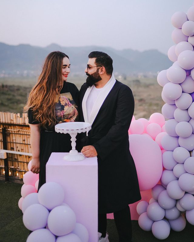 Ali Xeeshan Gave A Wonderful Birthday Surprise To His Wife