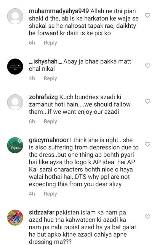 Alizeh Shah Faces Backlash For Her Statement On Independence Day