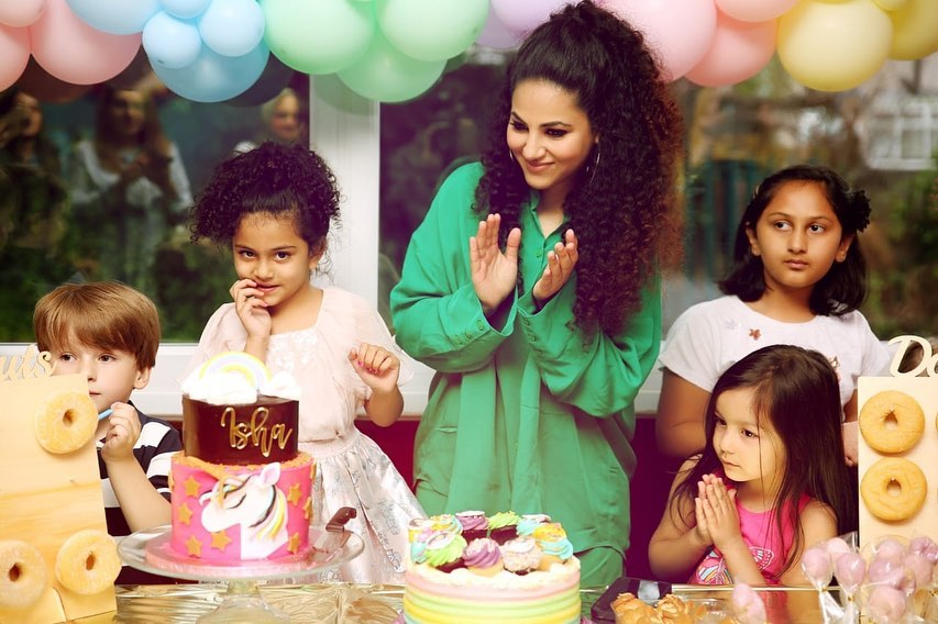 Annie Khalid Shared Adorable Pictures From Her Daughter's 5th Birthday