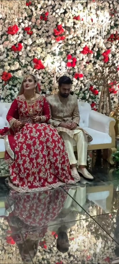 Sang-e-Mar Mar Famed Actress Beenish Raja Tied The Knot