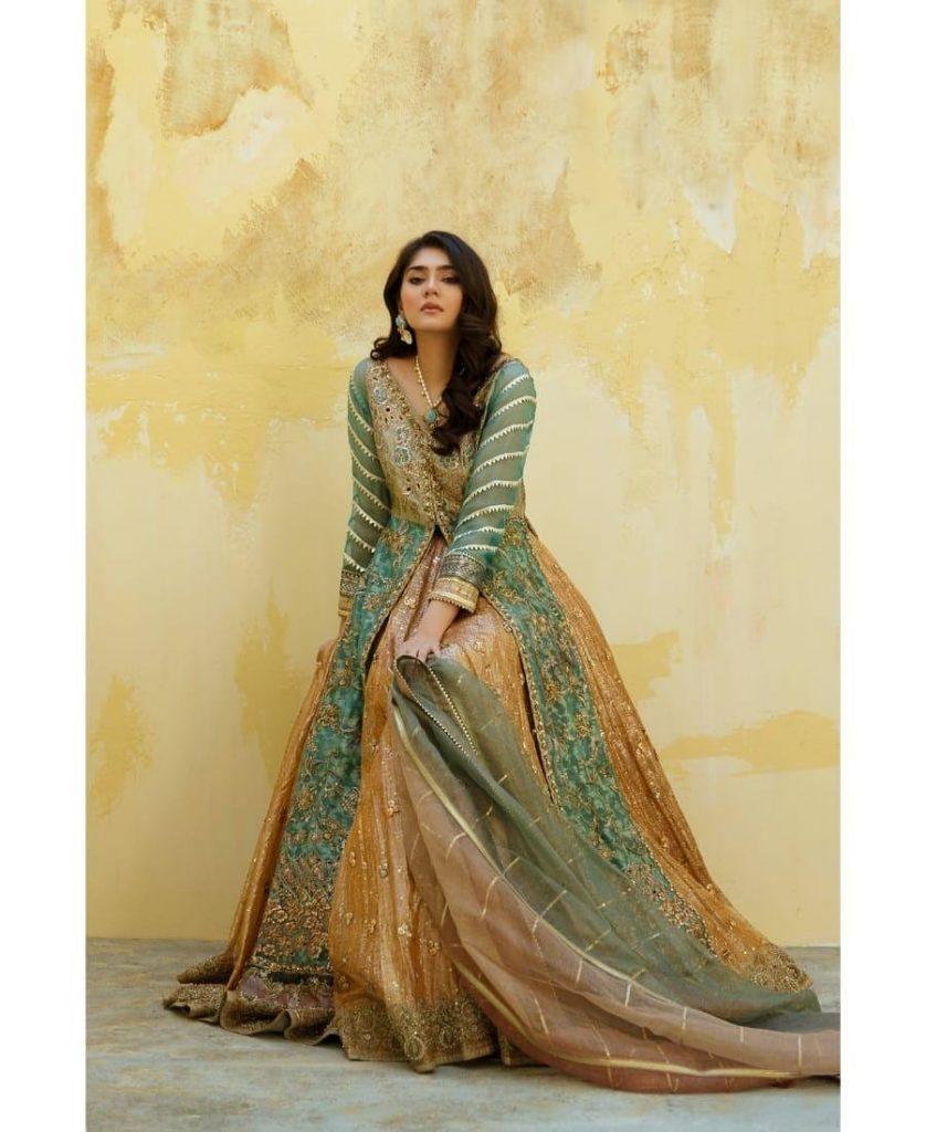 Umsha By Uzma Babar Formal Collection Featuring Dur-e-Fishan Saleem