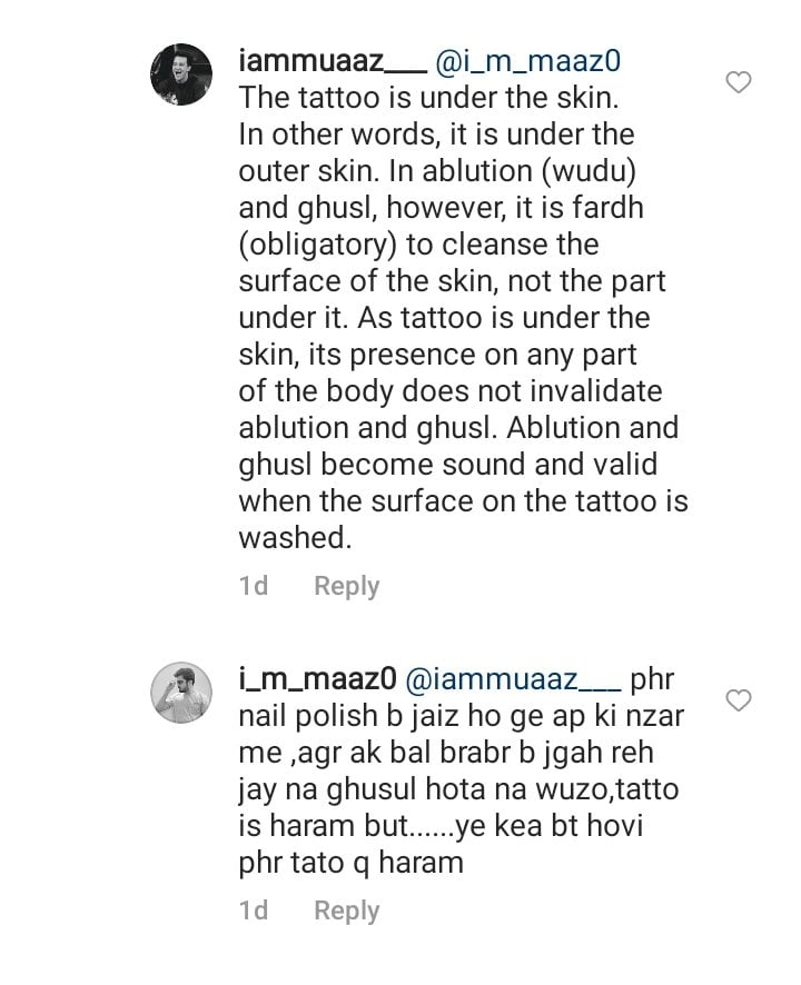 Faryal Mehmood Criticized For Getting Another Tattoo