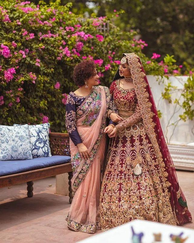 Faryal Mehmood And Sania Saeed Pair Up For A Bridal Shoot
