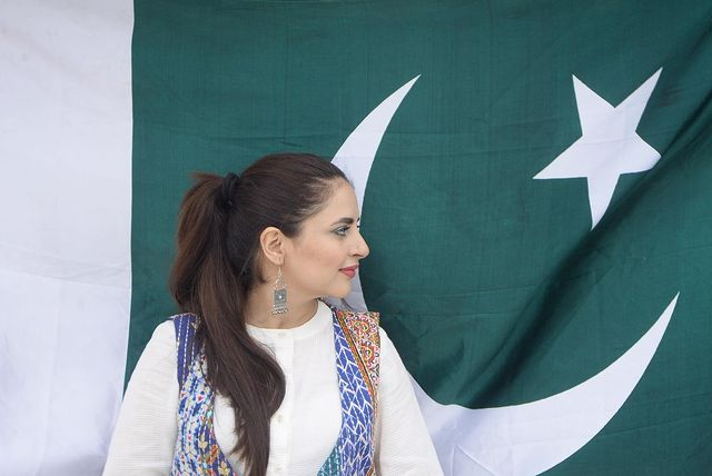 Fatima Effendi And Kanwar Arsalan With Their Kids On Independence Day 2021