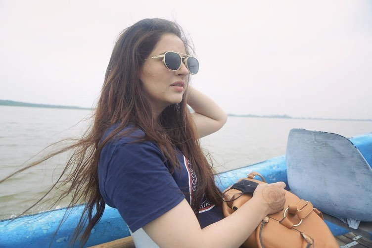 Alluring Pictures Of Fatima Effendi And Kanwar Arsalan From Vacations