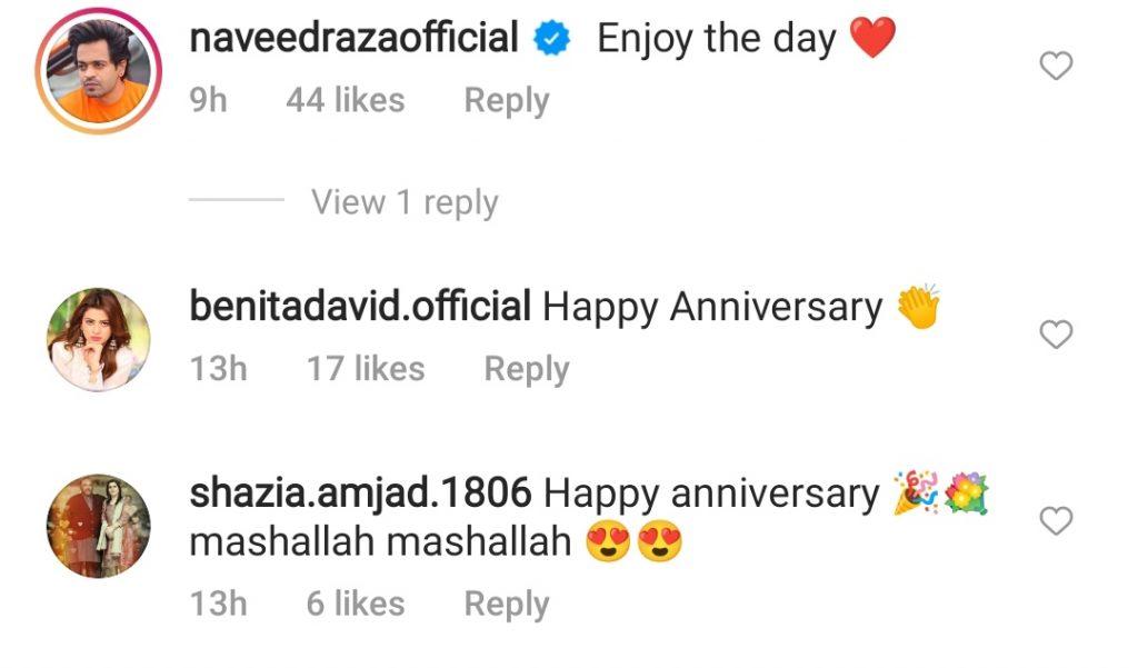 Faysal Quraishi & Sana Faysal Celebrate 11th Wedding Anniversary Together