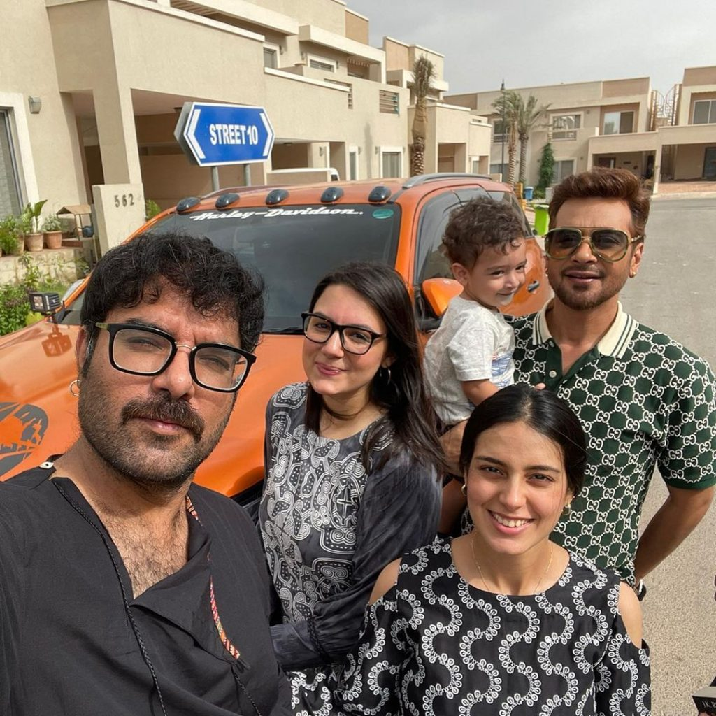 Faysal Qureshi And Sana Faysal Visited Iqra Aziz And Yasir Hussain