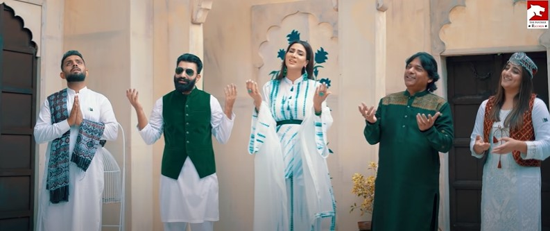 """Fiza Ali's National Song """"Piyara Pakistan"""" Is Loved By Public"""