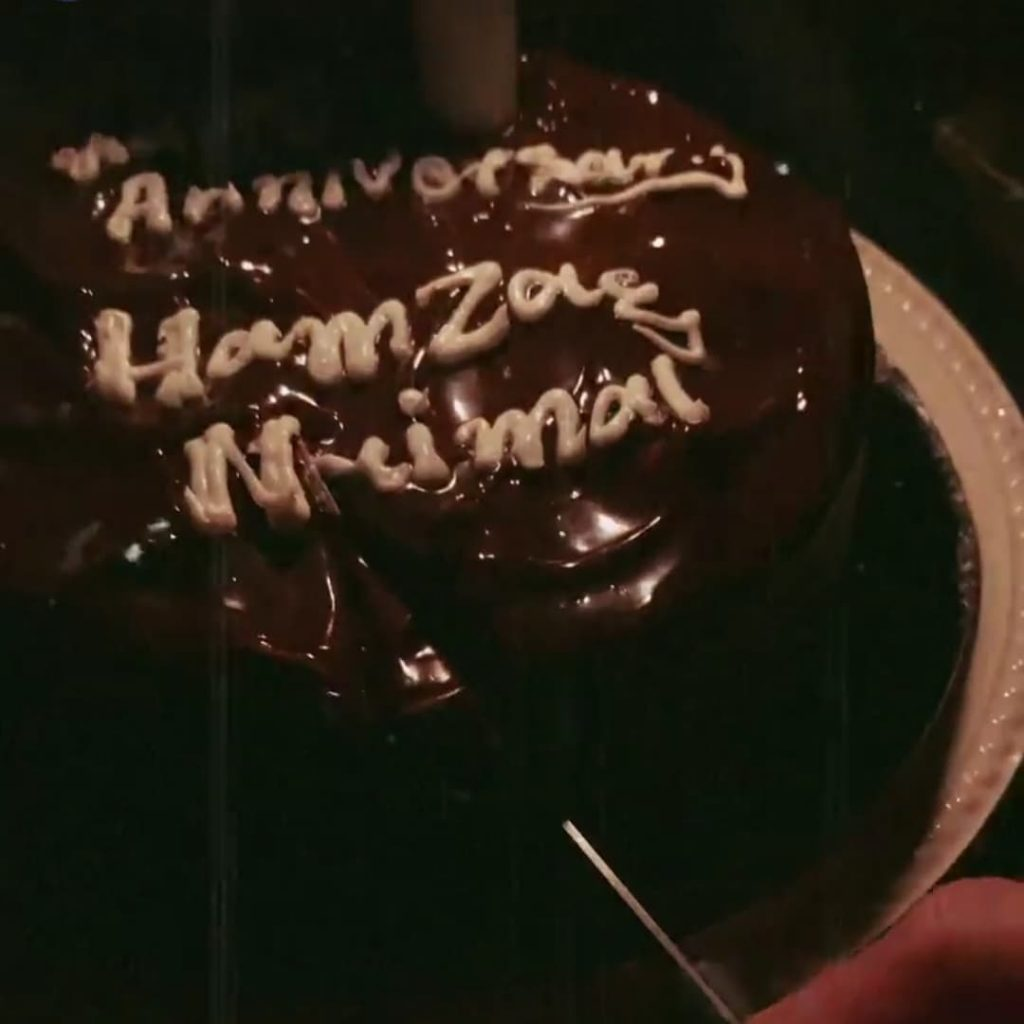 Hamza Ali Abbasi And Naimal Khawar Celebrate 2nd Wedding Anniversary