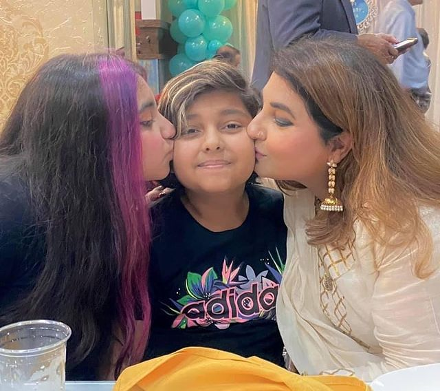 Javeria Saud Shared Adorable Pictures From Her Son's Birthday Party