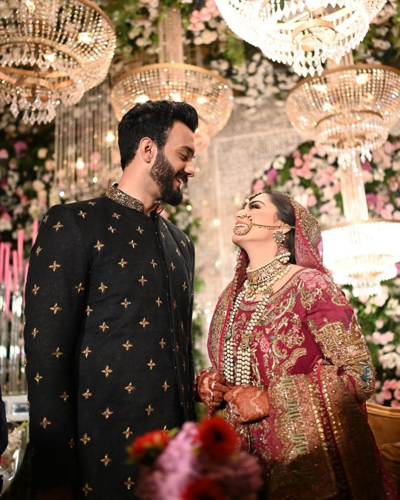 HD Pictures From Komal Baig's Wedding Day