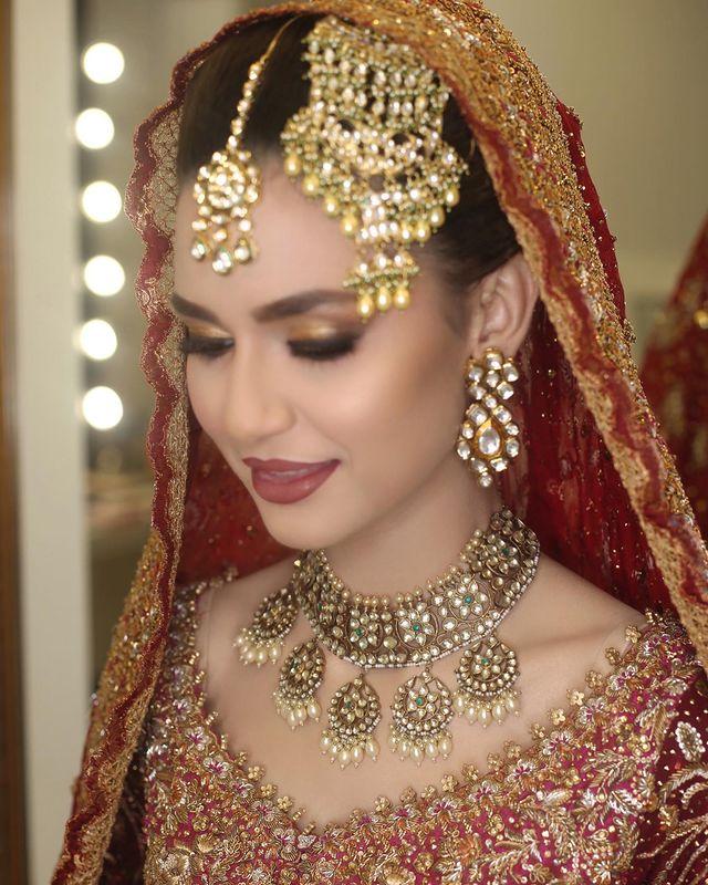 Madiha Imam Is Every Bride's Dream In Leelah By Farah Talib Aziz