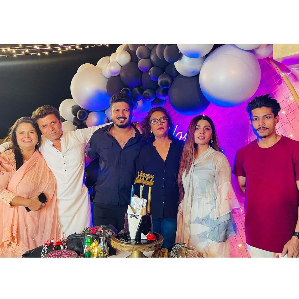 Actress Mahi Baloch Celebrated Her Brother's Birthday