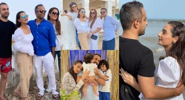 Momal Sheikh Celebrated Husband's Birthday At Beach With Friends