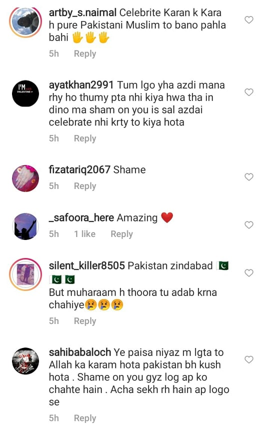 Netizens Criticize Muneeb Butt For Attending Independence Day Party