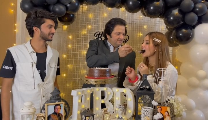 Rabeeca Khan Shared Adorable Pictures From Her Father's Birthday