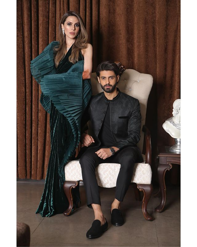 Saad Qureshi With His Wife- Beautiful Unseen Pictures