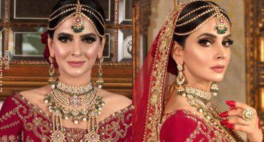 Saba Qamar Looks Radiant In A Traditional Bridal Attire