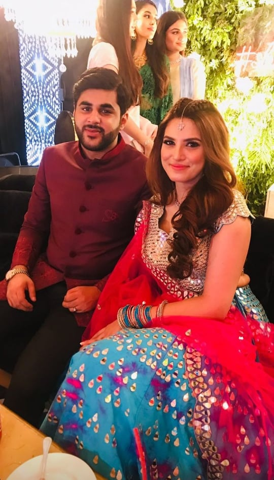 Sadia Faisal's Alluring Pictures From A Family Wedding