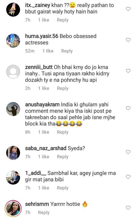 Public Criticism On Sadia Khan's Bold Red Saree